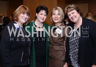 Gena Quarantello, Gina Rigby, Gina Steinway, Gina Whitsitt. Photo by Tony Powell. Sister Cities Inaugural Breakfast. Four Seasons. January 19, 2017