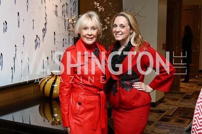 Patricia Duggan, Meredith Hope. Photo by Tony Powell. Sister Cities Inaugural Breakfast. Four Seasons. January 19, 2017