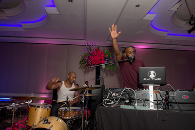 DJ Tye, 24 Annual Knock Out Abuse Gala, at the Ritz-Carlton, November 2, 2017. Photo by Ben Droz.