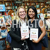 "Danielle Dooley, Chaya Merrill. Photo by Tony Powell. Kurt Newman ""Healing Children"" Book Party. Politics & Prose. June 19, 2017"