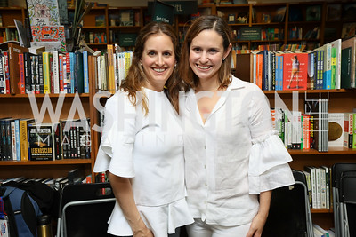 "Robin Friedman, Jennifer Miller. Photo by Tony Powell. Kurt Newman ""Healing Children"" Book Party. Politics & Prose. June 19, 2017"