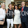 """Kathie Williams, Alison Newman, Laurie Strongin, Mike Williams. Photo by Tony Powell. Kurt Newman """"Healing Children"""" Book Party. Politics & Prose. June 19, 2017"""