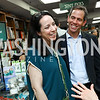 "Alexandra Migoya, Paul Freedman. Photo by Tony Powell. Kurt Newman ""Healing Children"" Book Party. Politics & Prose. June 19, 2017"