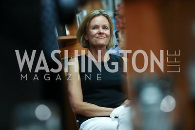 "Alison Newman. Photo by Tony Powell. Kurt Newman ""Healing Children"" Book Party. Politics & Prose. June 19, 2017"