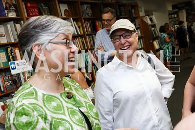 "Judith Sandalow, Wendy Goldberg. Photo by Tony Powell. Kurt Newman ""Healing Children"" Book Party. Politics & Prose. June 19, 2017"