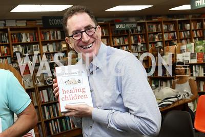 "Alan Goldberg. Photo by Tony Powell. Kurt Newman ""Healing Children"" Book Party. Politics & Prose. June 19, 2017"