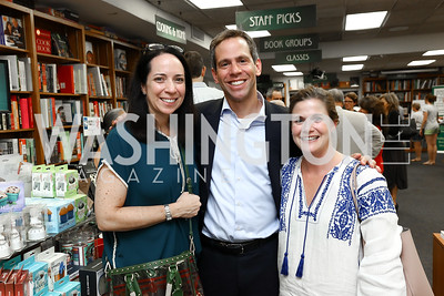 "Alexandra Migoya, Paul Freedman, Vita Pagnani. Photo by Tony Powell. Kurt Newman ""Healing Children"" Book Party. Politics & Prose. June 19, 2017"