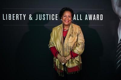 Sheila Jackson Lee. LBJ Foundation awarded its most prestigious prize, the LBJ Liberty & Justice for All Award, to philanthropist David M. Rubenstein on November 8, 2017.  Photography by Joy Asico