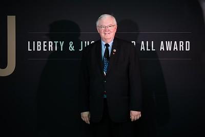 Joe Barton. LBJ Foundation awarded its most prestigious prize, the LBJ Liberty & Justice for All Award, to philanthropist David M. Rubenstein on November 8, 2017.  Photography by Joy Asico