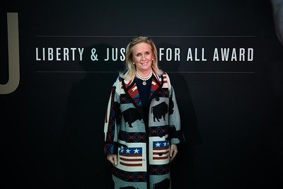 Debbie Dingell. LBJ Foundation awarded its most prestigious prize, the LBJ Liberty & Justice for All Award, to philanthropist David M. Rubenstein on November 8, 2017.  Photography by Joy Asico