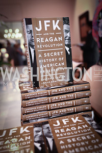 JFK and the Reagan Revolution. Photo by Tony Powell. Lawrence Kudlow Book Party. Ross Residence. August 2, 2017