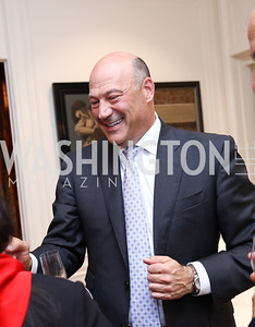 White House National Economic Council Director Gary Cohn. Photo by Tony Powell. Lawrence Kudlow Book Party. Ross Residence. August 2, 2017