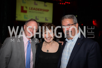 Bob Hebda, Heidi Onkst, Charlie Atwell, Leadership Montgomery, Celebration of Leadership, The Fillmore, June 6th, 2017, Photo by Ben Droz.