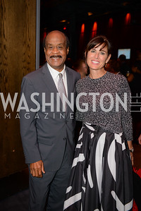 Ike Leggett, Michelle Freeman, Leadership Montgomery, Celebration of Leadership, The Fillmore, June 6th, 2017, Photo by Ben Droz.