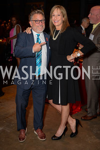 Cliff Chiet, Deann O'Brien, Leadership Montgomery, Celebration of Leadership, The Fillmore, June 6th, 2017, Photo by Ben Droz.