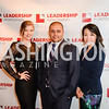 Kelly Davis, Brian Anleu, Rosalyn Tang,Leadership Montgomery, Celebration of Leadership, The Fillmore, June 6th, 2017, Photo by Ben Droz.