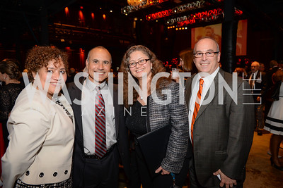 Gloria Blackwell, Rick Wieczorek, Christina Farias, Steve Levin, Leadership Montgomery, Celebration of Leadership, The Fillmore, June 6th, 2017, Photo by Ben Droz.