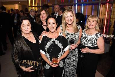 Kay Webb, Patty Miller, Daron Long, Patty Jones, erry McDuffy. Photo by Joy Asico. Longines Ladies Award 2017. Ronald Reagan Building. May 19, 2017