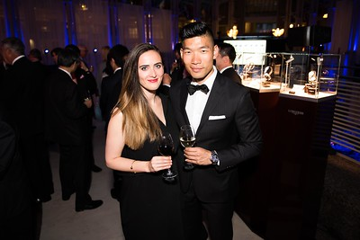 Alicia Mara, Leo Chen. Photo by Joy Asico. Longines Ladies Award 2017. Ronald Reagan Building. May 19, 2017