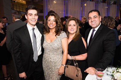 Brandon Lilinquist, Gladys Abi-Najm, Sharon Shakarji, Shahram Sadeghi. Photo by Joy Asico. Longines Ladies Award 2017. Ronald Reagan Building. May 19, 2017