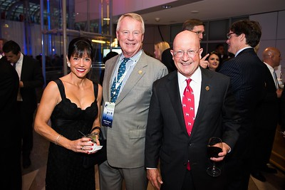 Janice Smeallie, Stuart Janney, Bill Lear. Photo by Joy Asico. Longines Ladies Award 2017. Ronald Reagan Building. May 19, 2017