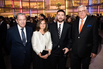 Juan Pablo Lira, Maria Teresa Larrael, Maricio Maurel, Andrea Bezzola. Photo by Joy Asico. Longines Ladies Award 2017. Ronald Reagan Building. May 19, 2017