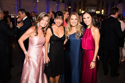 Rozie Gagliano, Janice Smeallie, Gabriela Kavulakian, Azul Kavulakian. Photo by Joy Asico. Longines Ladies Award 2017. Ronald Reagan Building. May 19, 2017