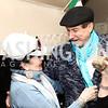 Judith Terra, Tom Noll. Photo by Tony Powell. Manuela's Fearless Woman Award. Il Canale. January 8, 2017