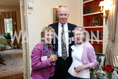 Diana Spencer, Thor Halvorson, Shannon Fairbanks. Photo by Tony Powell. Mary Ourisman Diplomacy Museum Event. May 31, 2017