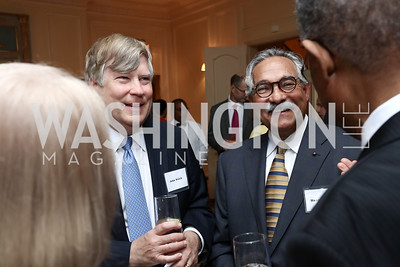 John Welch, Haney Hassan. Photo by Tony Powell. Mary Ourisman Diplomacy Museum Event. May 31, 2017