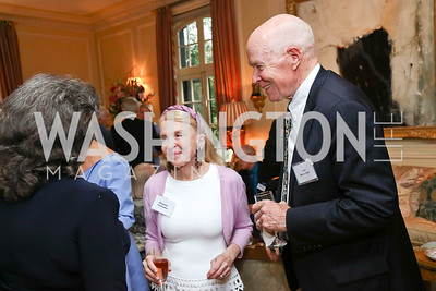 Shannon Fairbanks, Thor Halvorson. Photo by Tony Powell. Mary Ourisman Diplomacy Museum Event. May 31, 2017