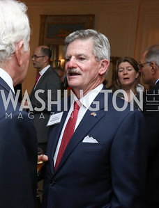 Sec. Jim Nicholson. Photo by Tony Powell. Mary Ourisman Diplomacy Museum Event. May 31, 2017