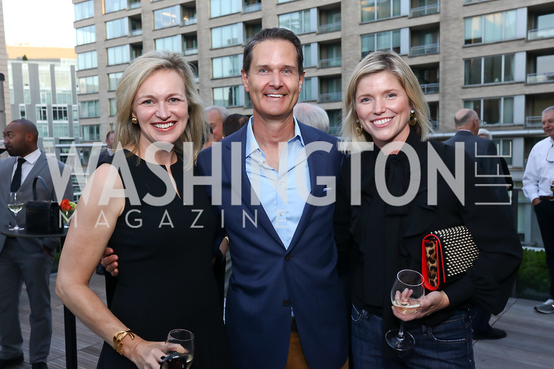 Laura Cox Kaplan, Chad Hoeft, Aimee Burck. Photo by Tony Powell. Matt McCormick Launch Party. Squash On Fire. September 13, 2017