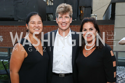 Trish Yan, Jonathan Taylor, Cindy Howar. Photo by Tony Powell. Matt McCormick Launch Party. Squash On Fire. September 13, 2017