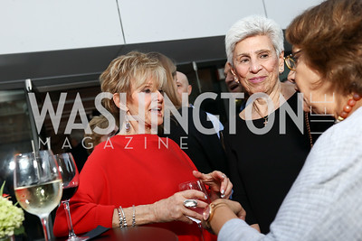 Barbara Crane, Anita Sciacca. Photo by Tony Powell. Matt McCormick Launch Party. Squash On Fire. September 13, 2017