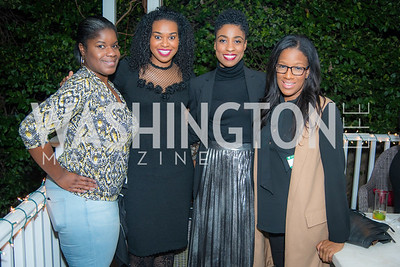 Donnika Stance, Alexandra Whittaker, Jaime Moody, Asha Maxey, National Museum of African American History & Culture, Meet The Museum, February 23, 2017.  Photo by Ben Droz