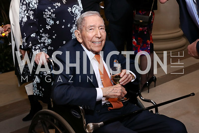 Leonard Silverstein. Photo by Tony Powell. National Gallery Della Robbia Opening. February 1, 2017
