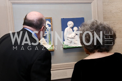 Photo by Tony Powell. National Gallery Della Robbia Opening. February 1, 2017