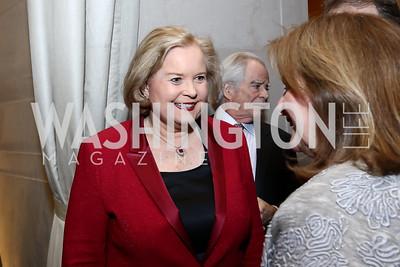 Sharon Percy Rockefeller. Photo by Tony Powell. National Gallery Della Robbia Opening. February 1, 2017