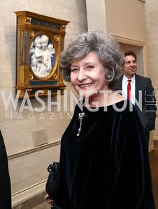 Clarice Smith. Photo by Tony Powell. National Gallery Della Robbia Opening. February 1, 2017