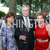 Amb. Capricia Marshall, Former Sec. Carlos Gutierrez, Adrienne Arsht. Photo by Tony Powell. Reception in Honor of Newly Arrived Ambassadors. Meridian. September 7, 2017
