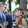 Tom Monahan, Dorothy Kosinski. Photo by Tony Powell. Reception in Honor of Newly Arrived Ambassadors. Meridian. September 7, 2017