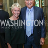 Linda Douglass and Amb. John Phillips. Photo by Tony Powell. Reception in Honor of Newly Arrived Ambassadors. Meridian. September 7, 2017