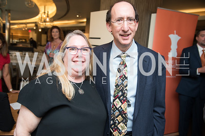 Sharon Lazar, Michael Lazar,  No Kid Hungry, Benefit Dinner at The Range, September 26, 2017.  Photo by Ben Droz