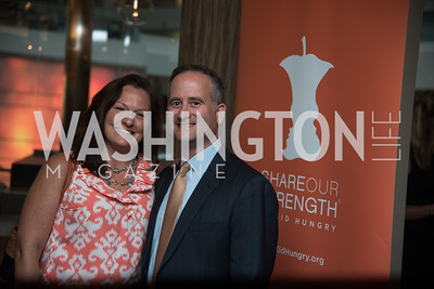 Kimberly Gaskins, Elliott Gaskins, No Kid Hungry, Benefit Dinner at The Range, September 26, 2017.  Photo by Ben Droz