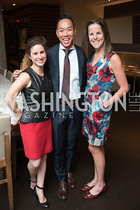 Erin Tornello, Alan Ng, Noelle Ng, No Kid Hungry, Benefit Dinner at The Range, September 26, 2017.  Photo by Ben Droz