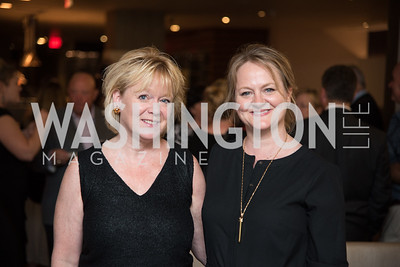 Michelle Green, Amy Zganjar, No Kid Hungry, Benefit Dinner at The Range, September 26, 2017.  Photo by Ben Droz