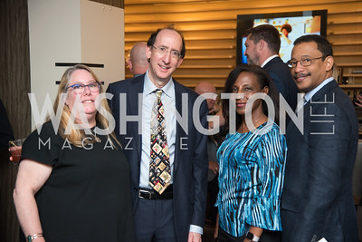 Sharon Lazar, Michael Lazar, Juan Johnson, Susan Leggett-Johnson, No Kid Hungry, Benefit Dinner at The Range, September 26, 2017.  Photo by Ben Droz
