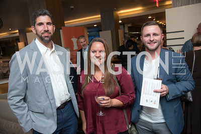 Dan Williams, May Anderson, Paul Keep,  No Kid Hungry, Benefit Dinner at The Range, September 26, 2017.  Photo by Ben Droz