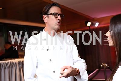 Nobu Malibu Chef Gregorio Stephenson. Photo by Tony Powell. Nobu DC Opening Sake Ceremony. October 29, 2017